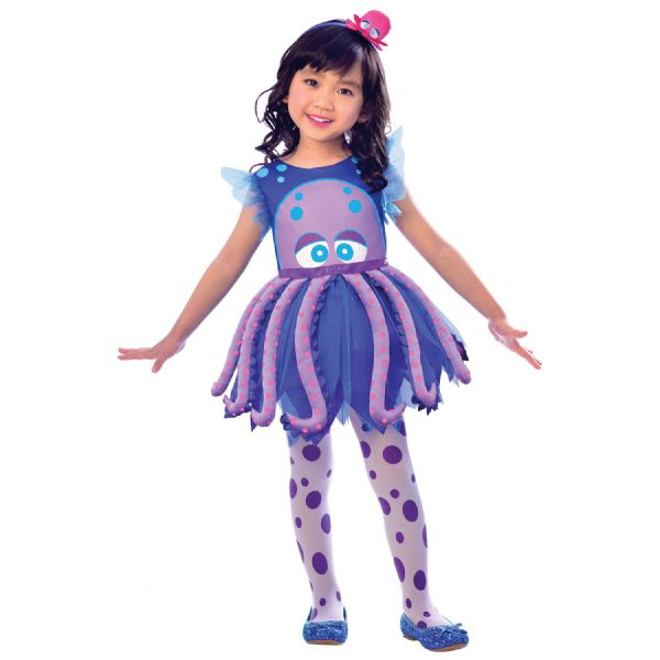 Octopus Costume Toddlers Fancy Dress Outfit